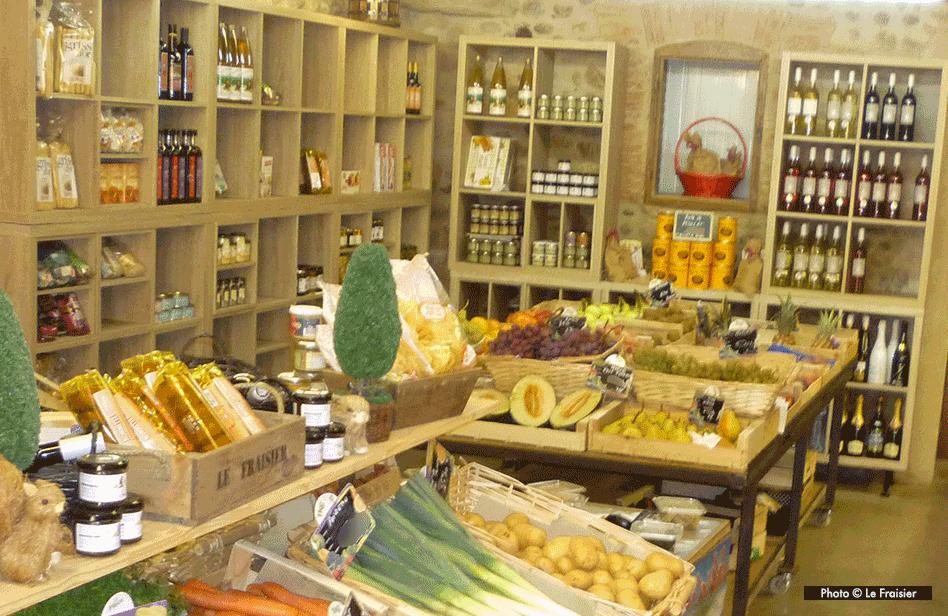 L'épicerie fine du Fraisier à Toulouges pour le-petit-pois.fr