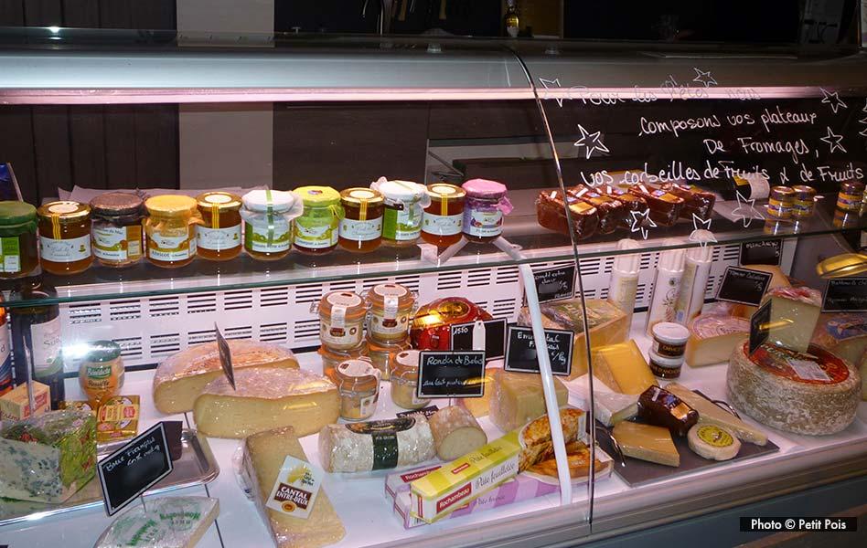 Le rayon fromage du petit Pois à Canohès pour le-petit-pois.fr