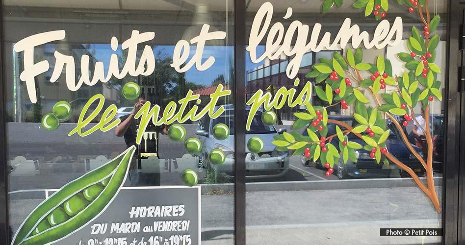 La Devanture du Petit Pois à Canohès pour le-petit-pois.fr